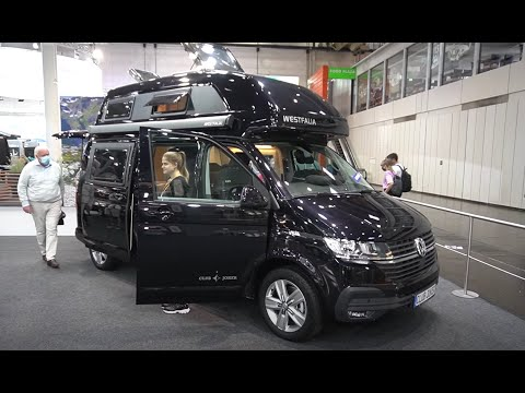 VW T6.1 2021 Westfalia Club Joker Hochdach. Der Campingbus unter den Wohnmobilen Caravan Salon 2020