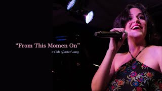 GABY COTTER - FROM THIS MOMENT ON (Live)
