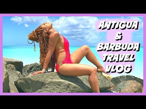 I'M in ANTIGUA Biihhh! | Antigua & Barbuda Travel Vlog