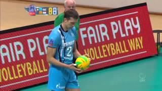 5 mejores puntos volleyball champions league masculina 2016 semana 2