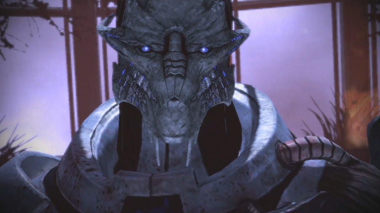 Mass Effect: Saren All Scenes Complete(ME1) - YouTube