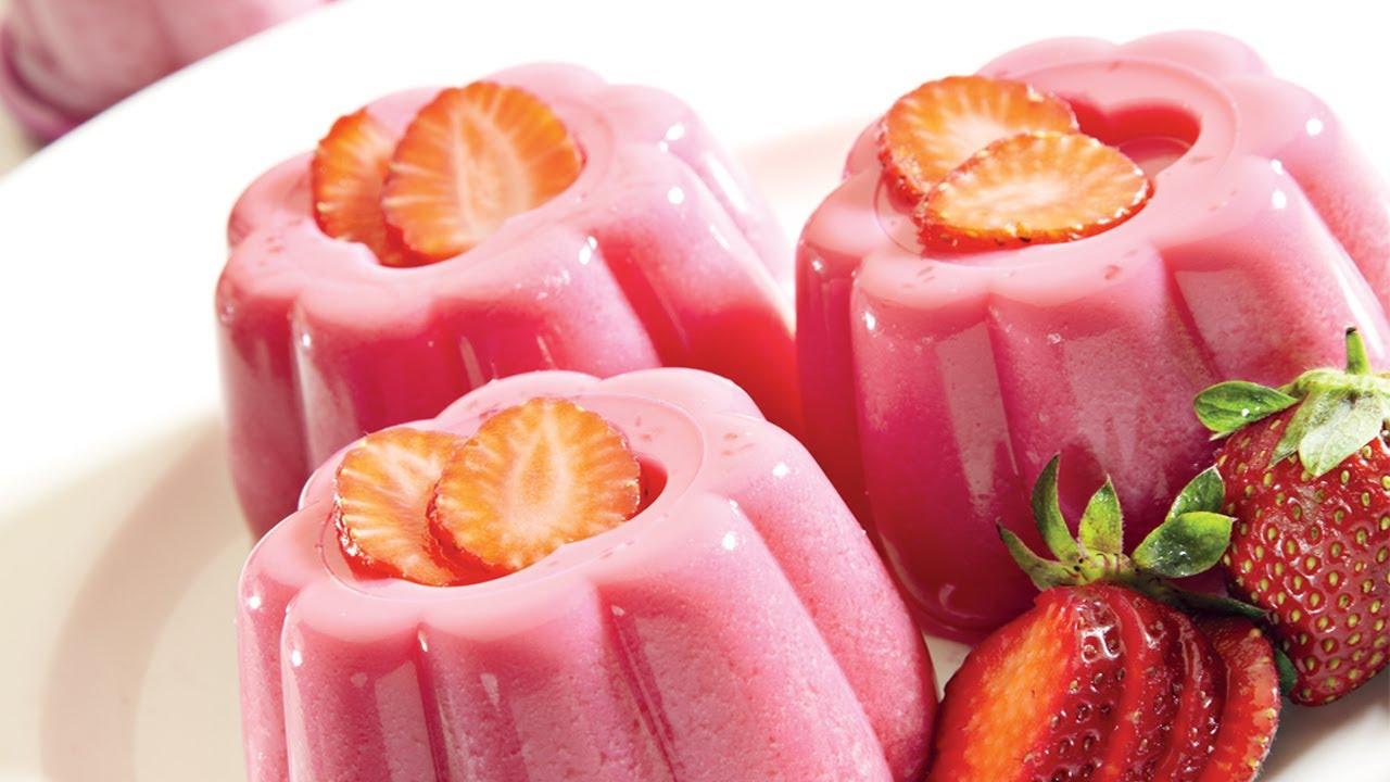 Jelly Cake Recipe Easy: Easy 3 Step Recipe - YouTube