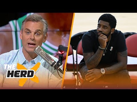Colin Cowherd on Kyrie to the Knicks rumors, Barkley's comments about LeBron  NBA  THE HERD