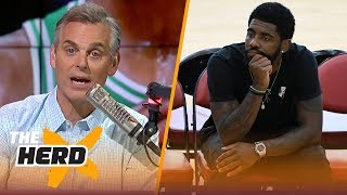 Colin Cowherd on Kyrie to the Knicks rumors, Barkley's comments about LeBron | NBA | THE HERD