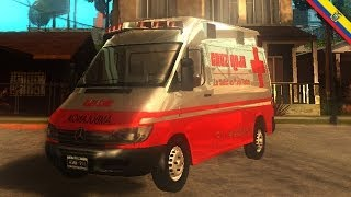 GTA Ecuador - Ambulancia Cruz Roja