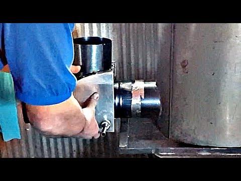 Chimney Valve For Rocket Mass Heater Bench