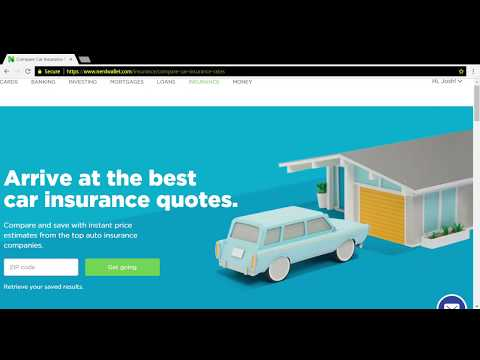 Nerdwallet Auto Insurance Activity