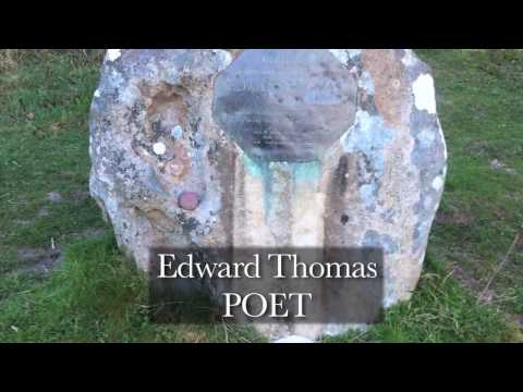 Edward Thomas POET. Killed 9th April 1917 at the Battle of Arras