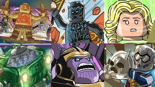 LEGO Marvel Superheroes 2 - All 6 DLC Levels (Black Panther, Infinity War, Ant-Man & Wasp etc.)