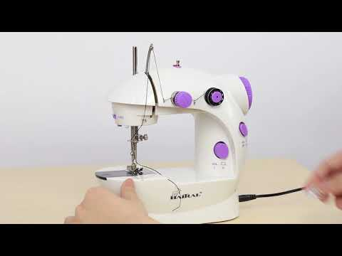How to operate mini sewing machine - HAITRAL sewing machine