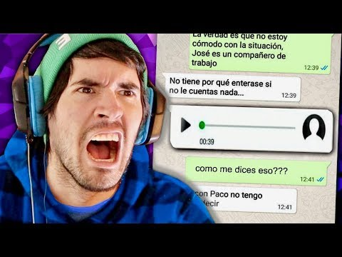 LOS AUDIOS DE WHATSAPP MAS RIDICULOS Y GRACIOSOS !!