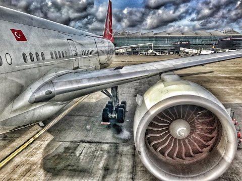 Turkish Airlines | Boeing 777-300ER | LHR-IST-SKP | Economy