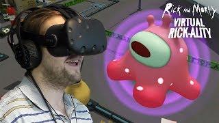 У КЛОНА ПОЯВИЛСЯ ДРУГ  Rick and Morty Virtual Rick-ality 3