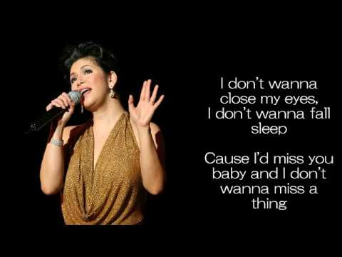 I Don't Wanna Miss A Thing by Regine Velasquez
