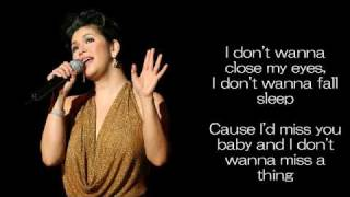 Download I Don't Wanna Miss A Thing by Regine Velasquez MP3 song and Music Video