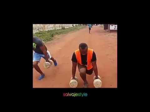 motivation african weightlifters no gym or suplements needed