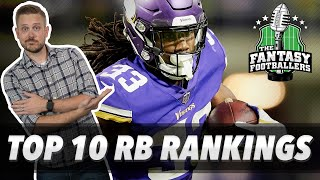 Fantasy Football 2019 - Early Top 10 RB Rankings, McVay Cologne, Dinner Bells - #705