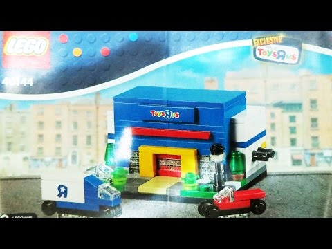 Lego 40144 Toys R Us Bricktober 4 Toy Store Review