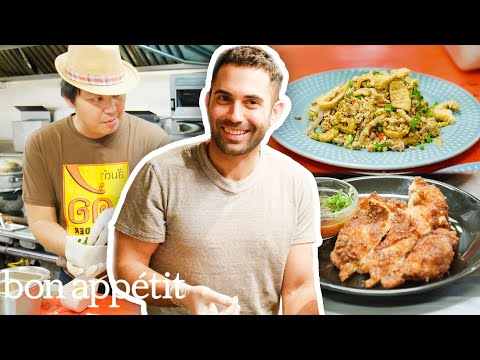 Andy Learns How to Cook Thai Food | Bon Appétit