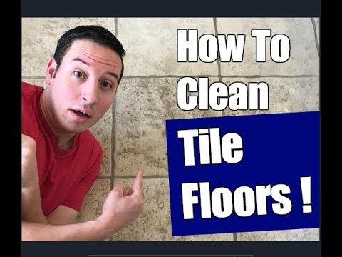 How To Clean Ceramic Tile Floors | Floor Transformation