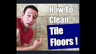 How To Clean Ceramic Tile Floors | Floor Transformation