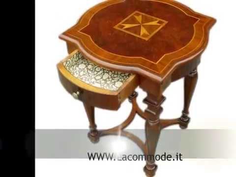 Riproduzioni d 39 epoca tavolino tavolini classici in stile for Tavolini in legno