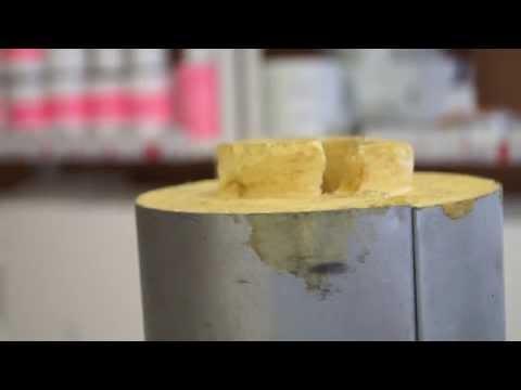 Скорлупа ППУ в силовой оболочке из оцинкованной стали ТИС Энерго