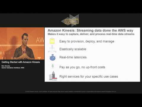 Getting Started with Amazon Kinesis | AWS Public Sector Summit 2016
