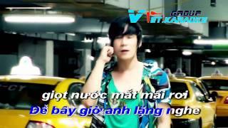 nguoi den sau - khanh phuong karaoke beat