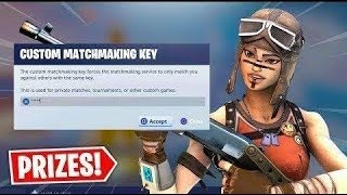 Hosting Fortnite Custom Matchmaking Lobbies| Win and Get a Reward| Fortnite Live PS4 #ChronicRC