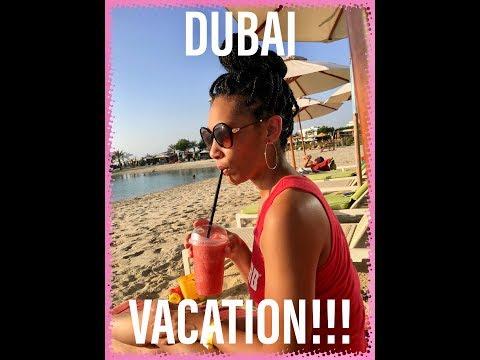 Travel Vlog: Bahrain/Dubai Pt 2| Dubai Mall, Beach Party, 5 Star Brunch Party
