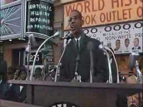 Denzel Washington Malcolm X Movie Speech