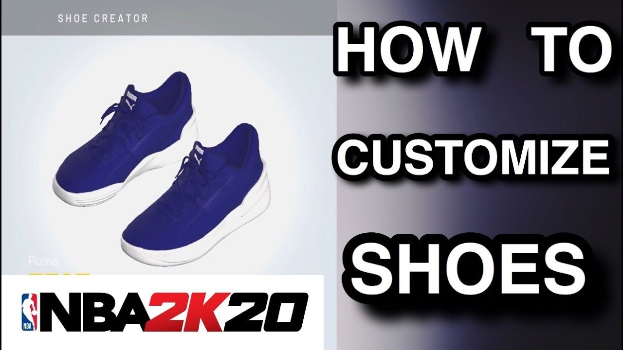 NBA 2K20 | How To Customize Shoes | How