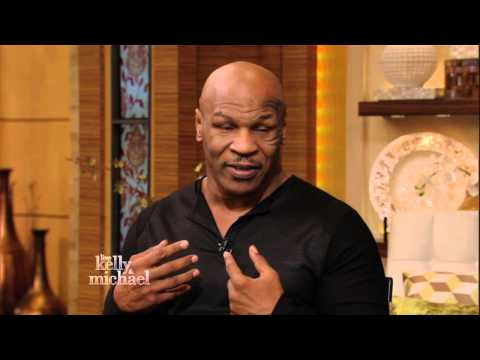 Mike Tyson on LIVE with Kelly and Michael