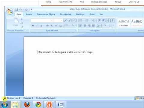 Converter ODT Para Word [Tutorial]