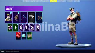 New Leaked LUDWIG SKIN With BACKBLING Coming To FORTNITE BATTLE ROYALE