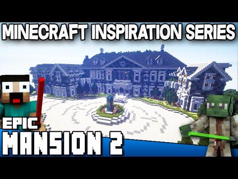 Minecraft - Epic Mansion 2 - Keralis Inspiration Series