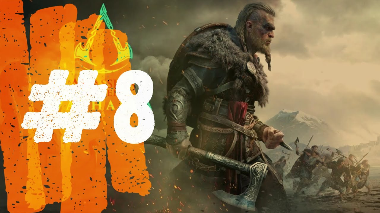 Assassins Creed Valhalla Lets Play Part 8 PS4