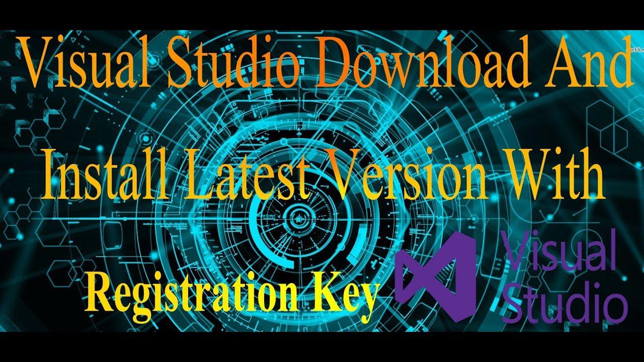 visual studio 2013 community registration key