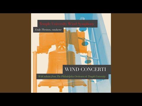 Oboe Concerto (For Solo Oboe & Wind Ensemble)