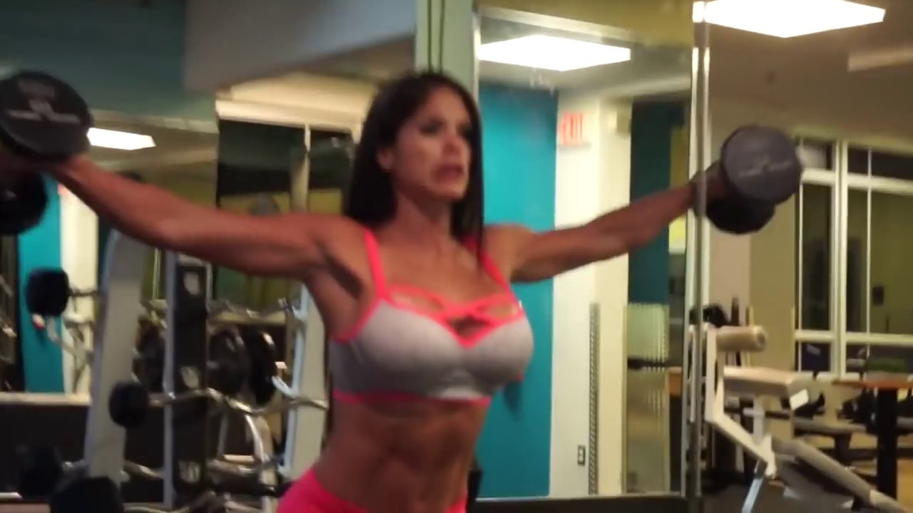 MICHELLE LEWIN Workout - Complete Shoulder Workout - YouTube