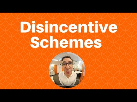 When agency incentive schemes can actually be a disincentive