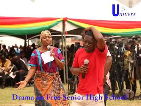 Watch: Fantastic Drama on Free SHS at the launch