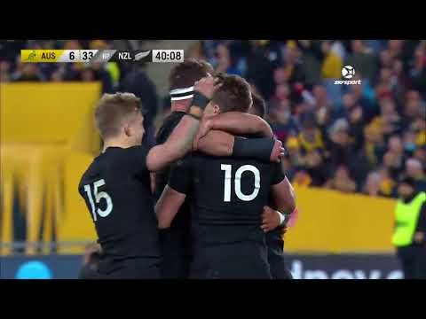 IRC HIGHLIGHTS: All Blacks v Australia first Test