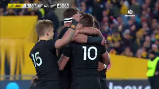 IRC HIGHLIGHTS: All Blacks v Australia first Test