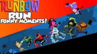 Runbow - Run Funny Moments! Close Competition and Disrespectful Taunts!
