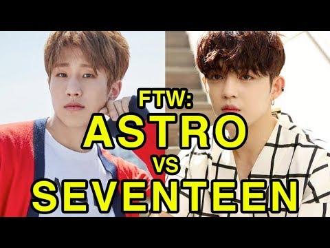 ASTRO vs SEVENTEEN • For The Win