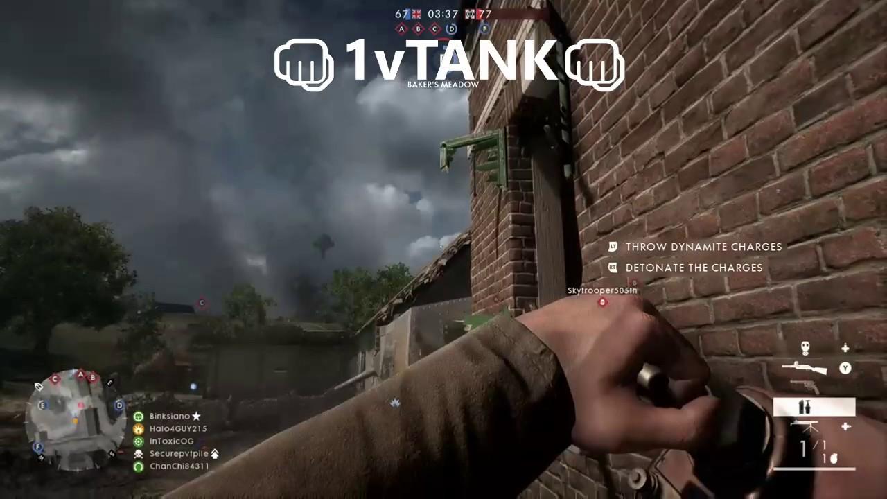 Download 1vTANK Battlefield 1