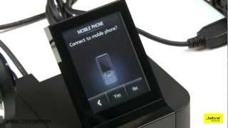 Gebruik Jabra Pro 9460 en 9470 met softphone