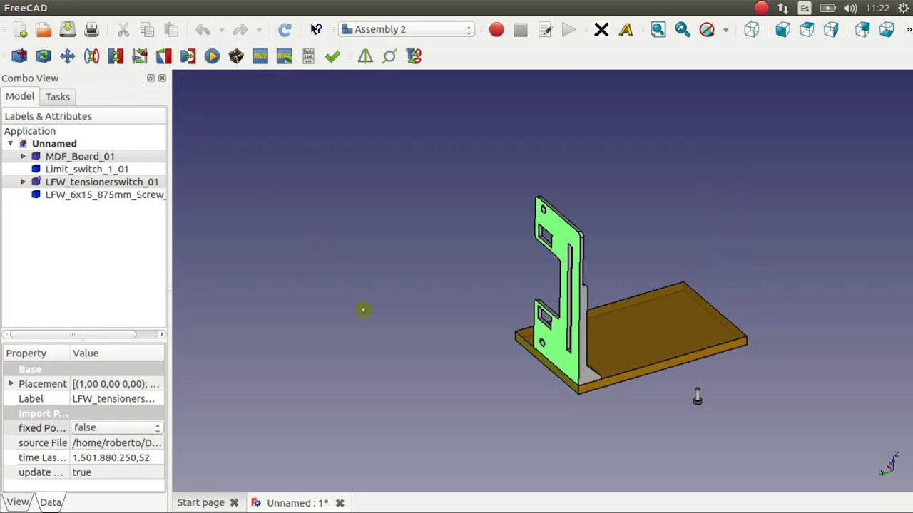 FreeCAD 101 - Open Source Ecology